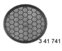 SEAT TOLEDO(99->)/LEON/AROSA -165mm zadní+přední mřížky- černá barva