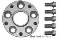 HR podložky pod kola (1pár) SEAT Arosa 6H rozteč 100mm 4 otvory stř.náboj 57,1mm -šířka 1podložky 25mm /sada obsahuje montážní materiál (šrouby, matice)